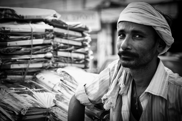 Street Vendor, Delhi, India